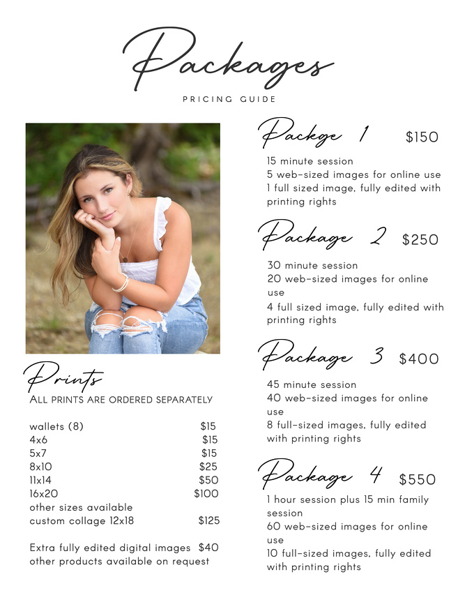 8-Packages pricing