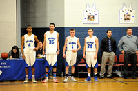 PHS Boys Basketball Senior Night 2014